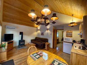 Cozy Cabin Interior View