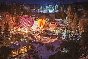 Balloon Glow Riverside Cabins